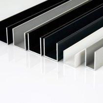 alu u profile verschiedene ma e und veredelungen mepa metallhande. Black Bedroom Furniture Sets. Home Design Ideas