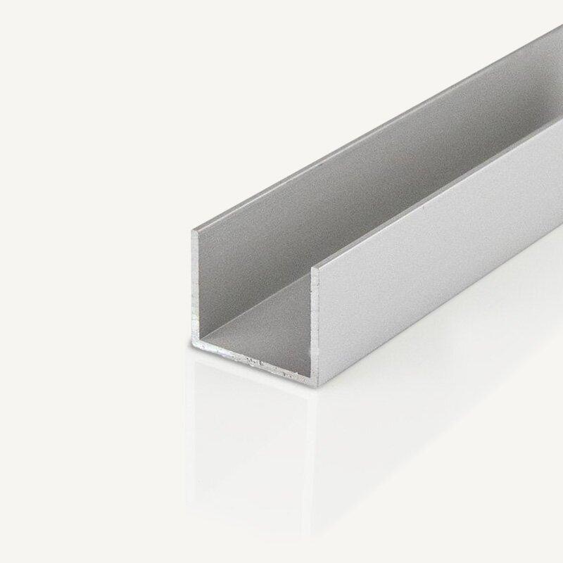 alu u profil eloxiert direkt online bestellen mepa metallhandel shop f r. Black Bedroom Furniture Sets. Home Design Ideas